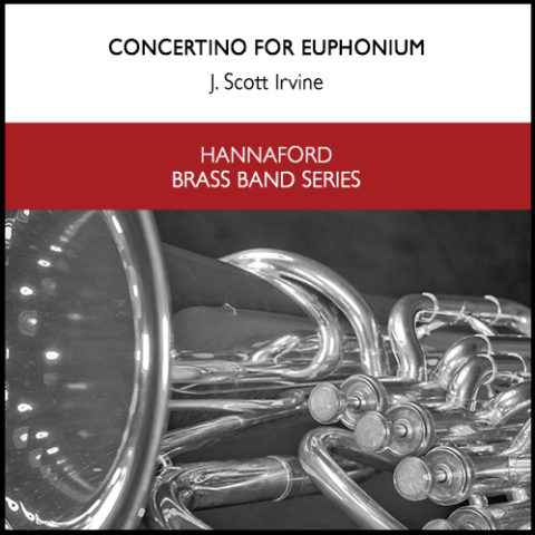 Cover Concertino for Euphonium (Brass Band Version) Resized for web