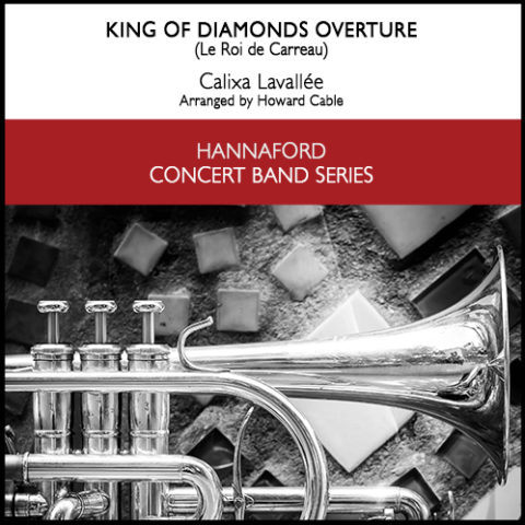 Cover Lavallèe - King of Diamonds Overture (concert band) Resized for web