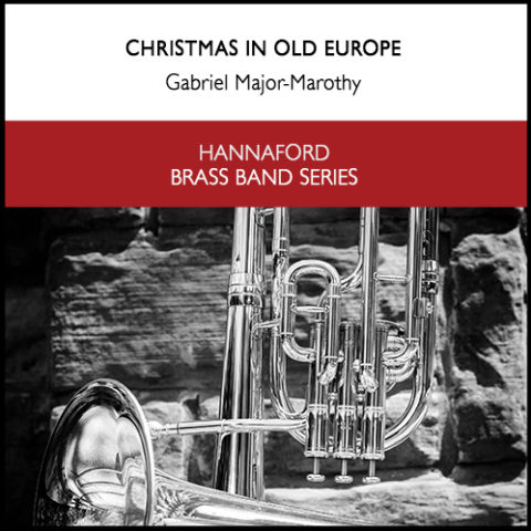 Cover Marothy - Christmas in Old Europe (brass band) Resized for web