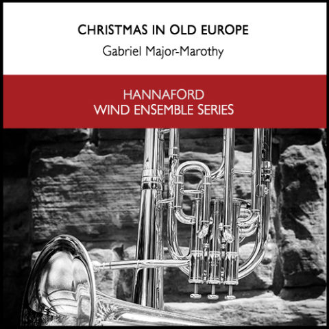 Cover Marothy - Christmas in Old Europe (wind ensemble) Resized for web
